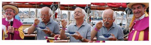Érik Orsenna et le coco de Paimpol aux Chants de marins