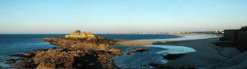 Panoramique de Saint-Malo