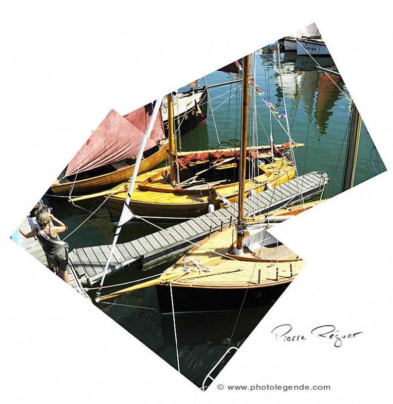 Les ptits bateaux à la fête du Chant de marins