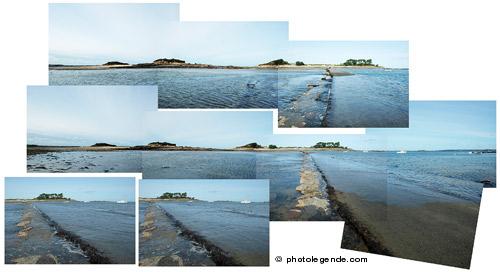 La route immergeable vers Callot