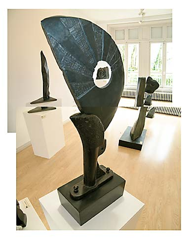 Sculpture à Landivisiau