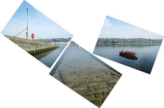 Le port de l'Auberlac'h à Plougastel