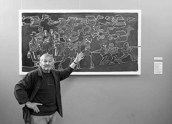 Mikeal Jestin et les canards sauvages