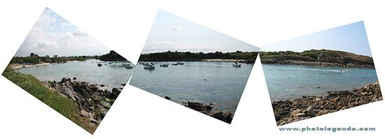 Port Neuf, à Moguériec