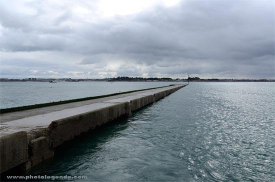 L'embarcadère de l'île de Batz