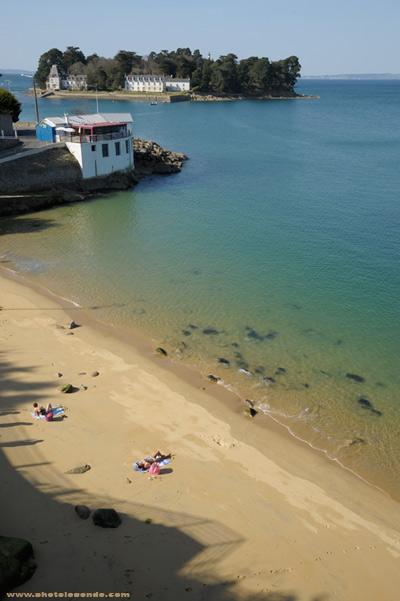 La plage des Dames à Douarnenez