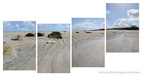 Sur la plage, Cléder